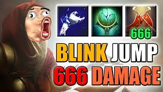 666 Duel Damage with Full Armor Reduction [Bunny Hop Commander] Dota 2 Ability Draft