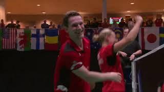Mixed doubles championship point - 2019 YONEX Dutch Open