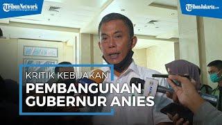 Kritik Pembangunan Gubernur Anies Baswedan, Ketua DPRD DKI Jakarta: Malah Tambah Daerah Rawan Banjir