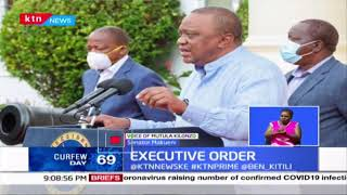 Executive order: Uhuru abolishes the Presidency, the office of DP to be under OP