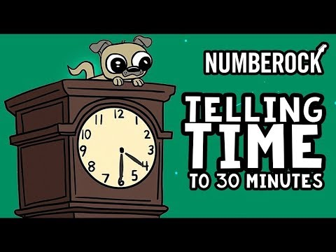 telling time to the half hour and hour song 1st grade amp