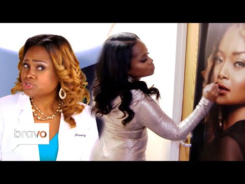 Dr. Heavenly Kimes Shadiest Moments   Married to Medicine   Bravo