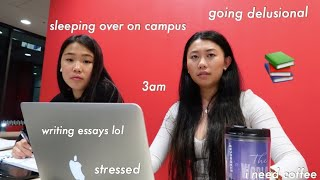 24 HOURS LIVING / STUDYING ON CAMPUS | UNIVERSITY OF AUCKLAND