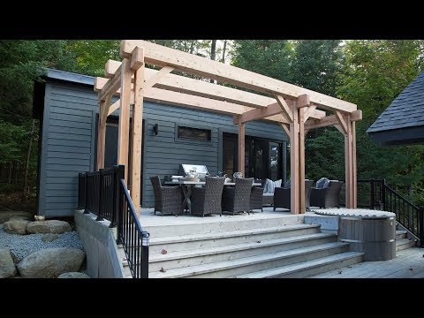 Colin & Justin build a Cedar pergola in a single day
