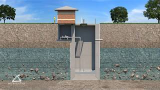 How It Works -  Sunk Caisson Construction for Lift Stations