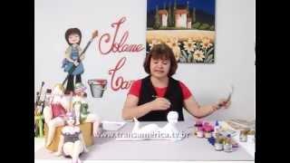 Programa Artesanal – Técnica de pintura em gesso