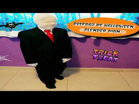 Disfraz De Halloween (( Slender Man ))