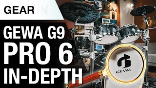GEWA G9 Pro C6 | State-of-the-art E-Drum technology | In-Depth Review