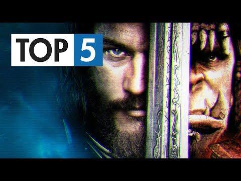 TOP 5 - Nejlepších filmů podle her