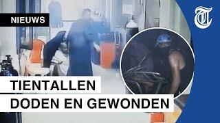 Eerste beelden ziekenhuisbrand Bagdad