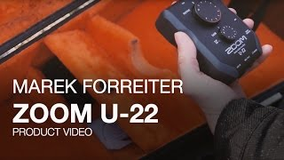 Zoom U-22 Handy Audio Interface Video