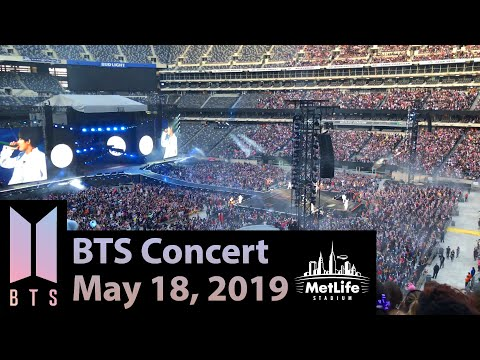 BTS Concert - MetLife Stadium - May 18, 2019