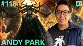 Art Cafe #116   Andy Park - From Comic Book Art To Art Directing Marvel Movies