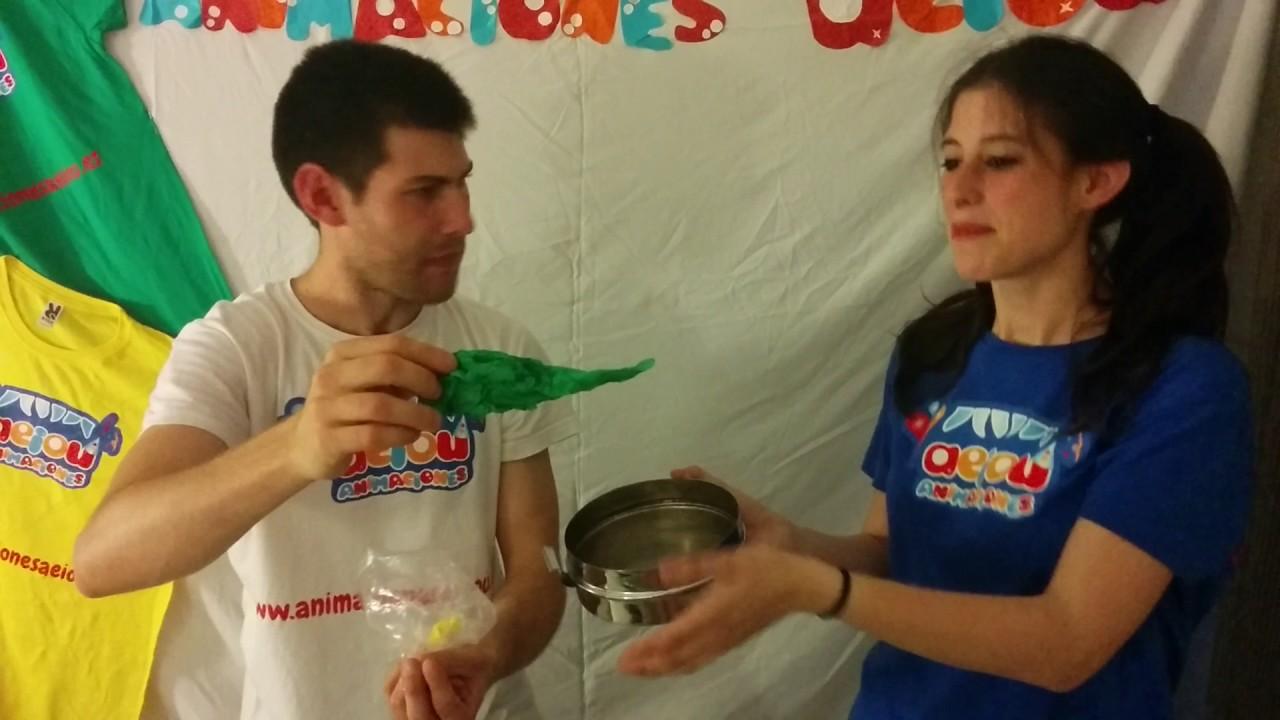 Truco de magia para niños: la olla mágica de los caramelos