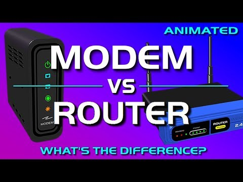 Modem vs Router – What's the difference?