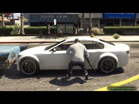 GTA V- Random Police Trouble & Chase - Perfect Quality - Grand Theft Auto 5 PS3 Gameplay - HD
