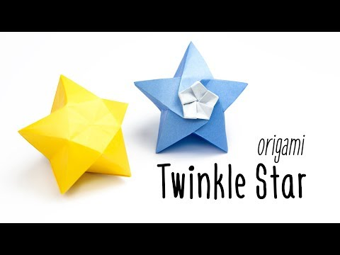 Origami Twinkle Star Tutorial - Inflatable Star - Paper Kawaii