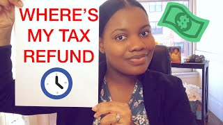 Where Is My Tax Refund!
