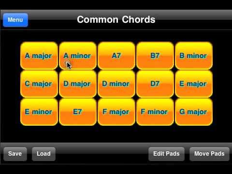 Guitar Chord Generator and Player
