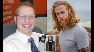 Salesman Grows Ginger Beard And Becomes GQ Model