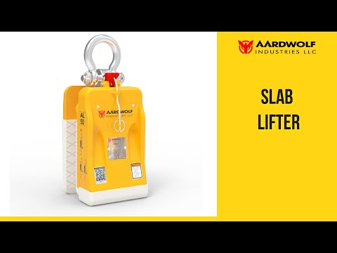 Aardwolf Slab Lifter 50 - Video 3