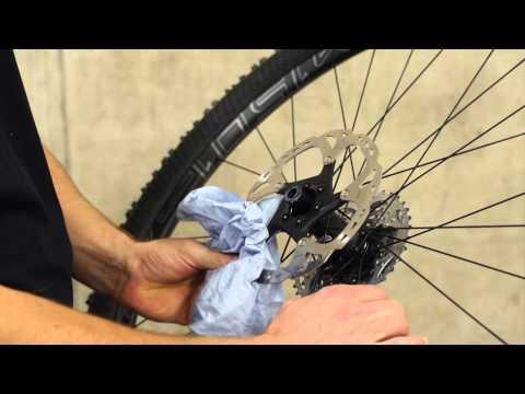 Canyon Service – Scheibenbremse pflegen und einstellen