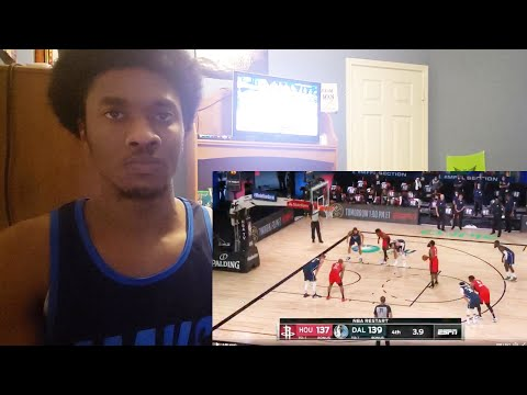 Rockets vs Mavericks Ending Reaction!!