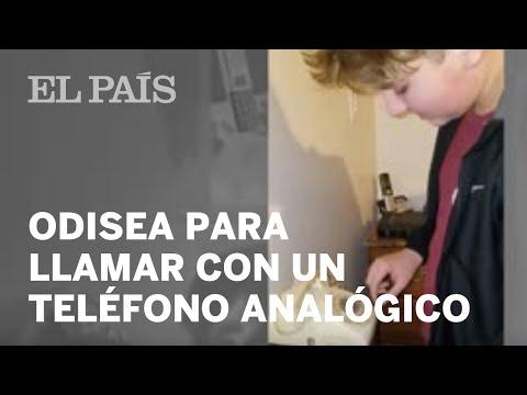 La odisea de un adolescente para llamar a su madre con un teléfono analógico | Viral