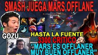 PRIMER JUEGO MARS DE SMASH - LO DOMINA A LA PERFECCIÓN - SE METE HASTA LA FUENTE