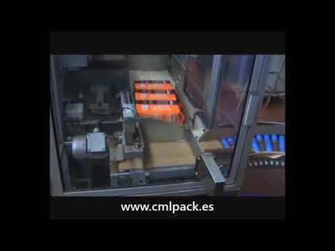 CMLPACK OF-131 ENFAJADORA CON TUNEL RETRACTIL CAFE ALMOHADILLA