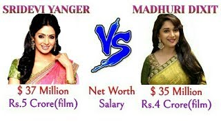 Sridevi Kapoor Vs Madhuri Dixit Comparison 2018,Lifestyle | Net Worth | Unknown Facts #HabibNews