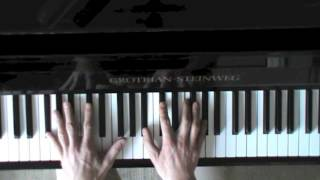 Five Jazz Piano Exercises for 2-5-1-voicings - beginner to advanced