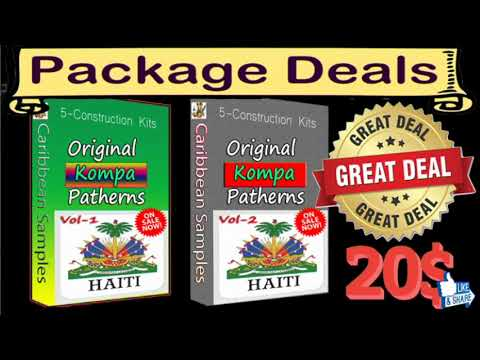 Originated Kompa from Haiti.Special Offer