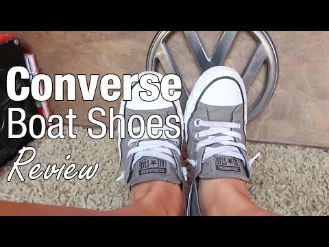 Review of Converse Boat Shoes