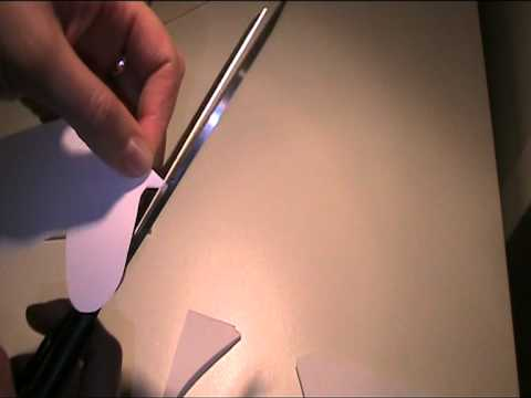 Filz Schmetterling als Tischkarte - Video