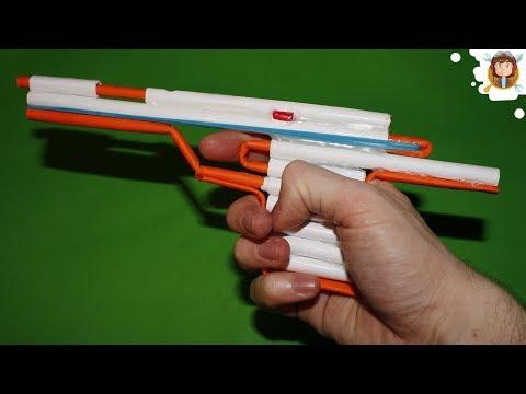 How to Make an Airsoft Gun - Paper Pistol