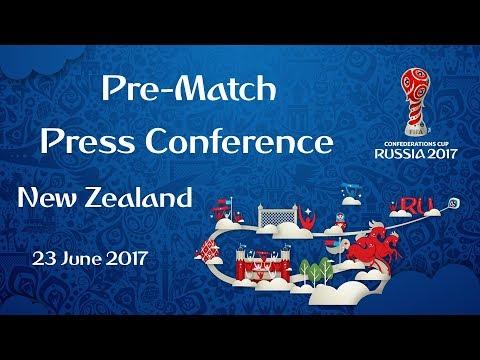 NZL vs. POR - New Zealand Pre-Match Press Conference