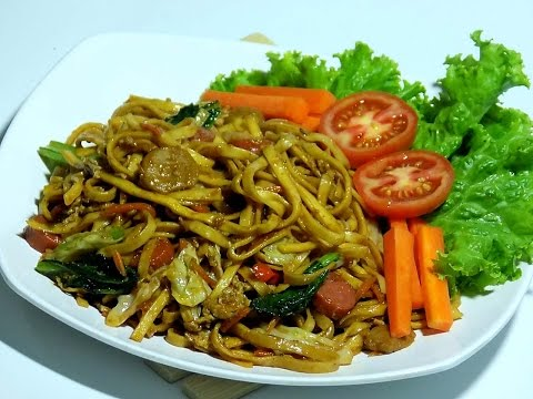 Video Resep cara membuat mie goreng lezat