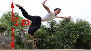 Shaolin Kung Fu Wushu Tutorial, Butterfly Kick Training Step by Step for Beginners