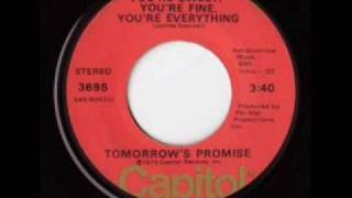 You're Sweet, You're Fine, You're Everything - Tomorrow's Promise