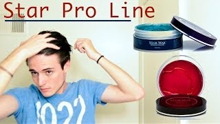 Star Wax Premium Pomade: Star Pro Original & Crystal Hair Product Review