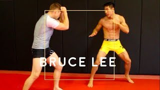 Bruce Lee's 5 BEST TACTICS used in MMA Sparring