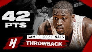 The Game Dwyane Wade SCORED 42 Points In A Comeback Win vs Mavericks | Game 3, 2006 NBA Finals