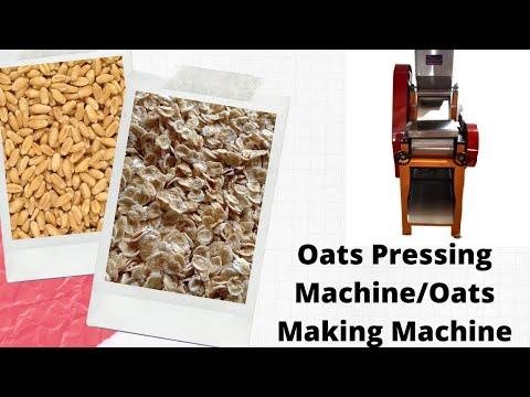 Oat Flakes Making Machine