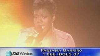 Fantasia Barrino - It's A Miracle (With Judges Comments)