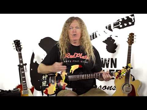Learn Drop C Rock Scale Guitar Chords