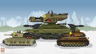 "Cartoon about tanks ""MONSTER X ONE VS PUMPKINS"""