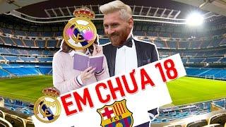 """Hãy cùng Messi đến với """"sân tập"""" Bernabeu"""