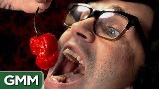 World's Hottest Pepper Challenge: Carolina Reaper