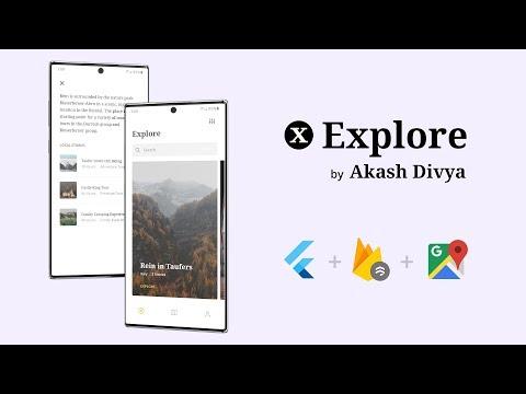 Explore - Flutter App Showcase